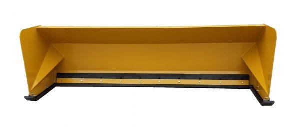 10′ XP36 Snow Pusher - Caterpillar Yellow