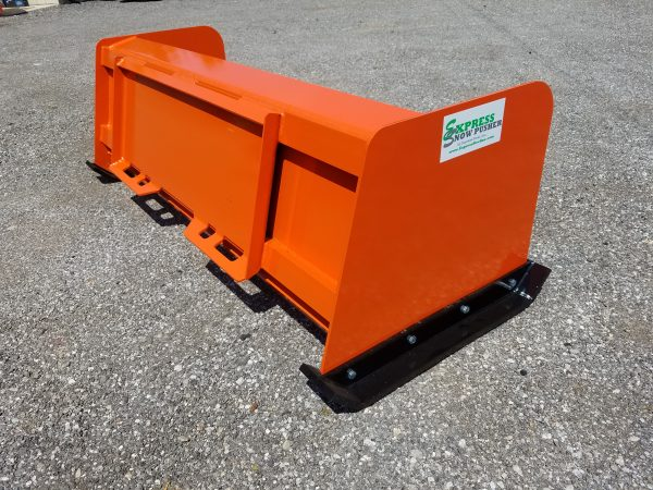 6′ XP24 Snow Pusher - Kubota Orange
