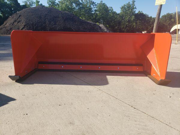 6′ XP24 Snow Pusher - Orange