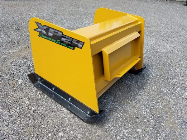 4' XP24 Snow Pusher - Yellow