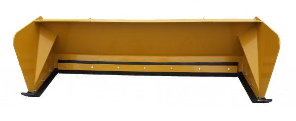 7′ XP24 Snow Pusher - Caterpillar Yellow