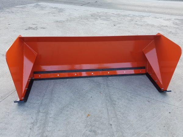 7' XP30 Snow Pusher - Orange