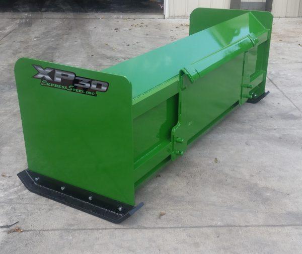 7' XP30 Snow Pusher - JD Green