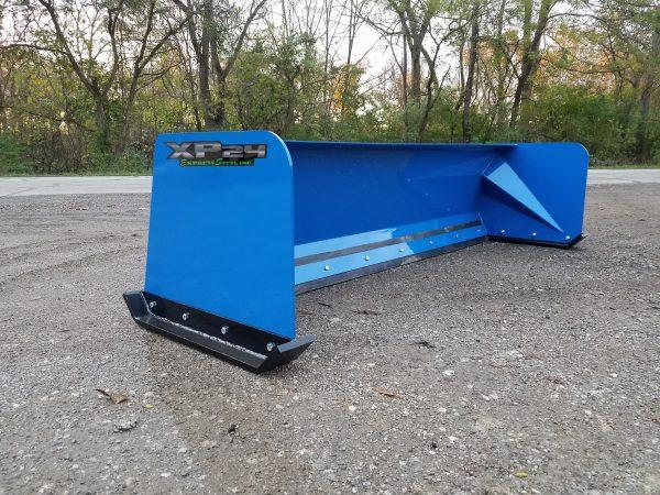8′ XP24 Snow Pusher - Blue