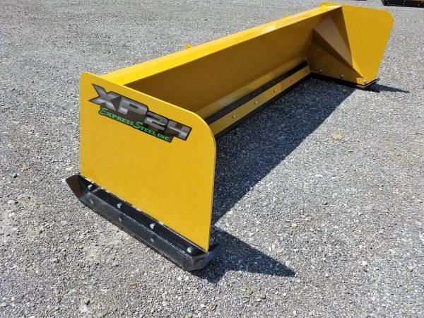 8′ XP24 Snow Pusher - Yellow