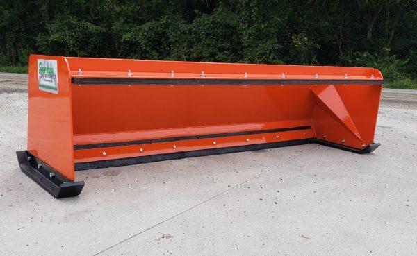 8′ XP24 Snow Pusher - Kubota Orange