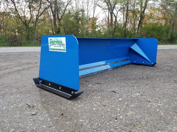 8′ XP24 Snow Pusher - Equipment Blue