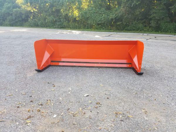 8′ XP30 Snow Pusher - Kubota Orange