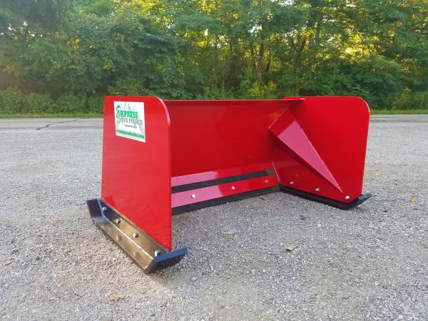 4' XP24 Snow Pusher - RED