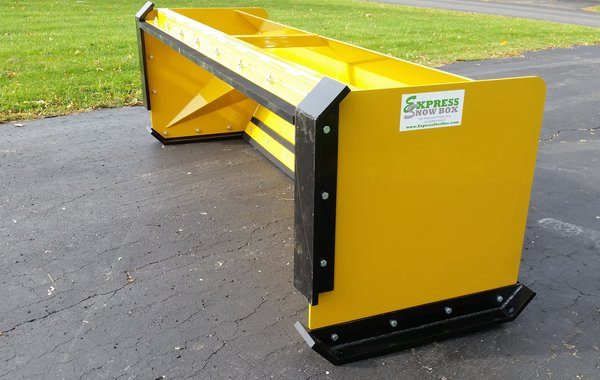 6' XP30 Pullback Snow Pusher w front shoes