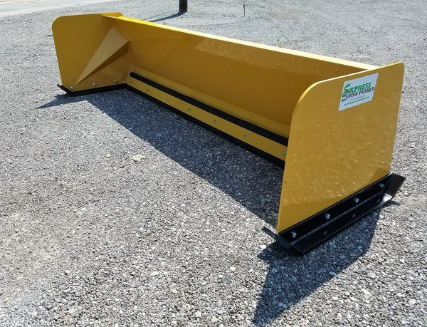 7′ Skid Steer Low Pro Snow Pusher