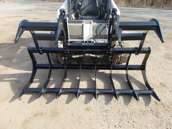 """72"""" HD Two-Cylinder Brush Grapple"""