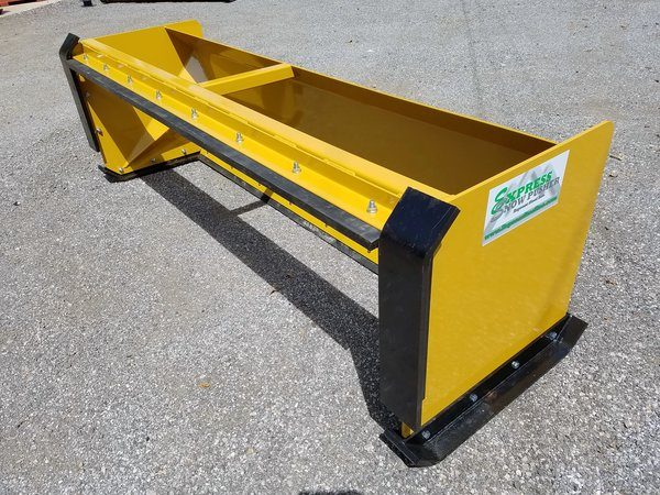 8′ Skid Steer Snow Pusher