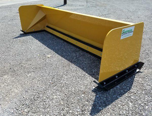 8′ Skid Steer Low Pro Snow Pusher