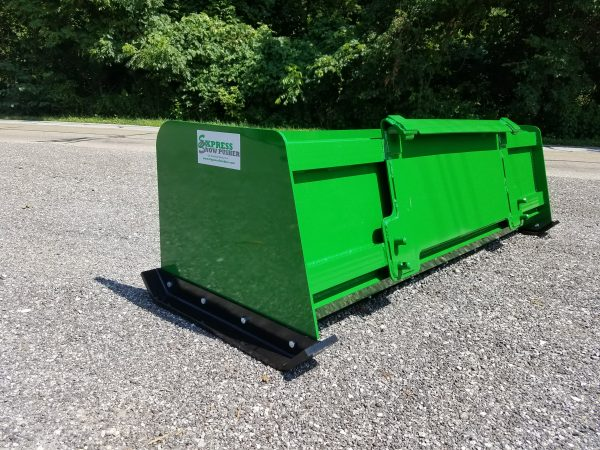 6′ XP24 Snow Pusher (back view) - JD Green
