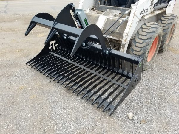 "72"" Rock Bucket Grapple"