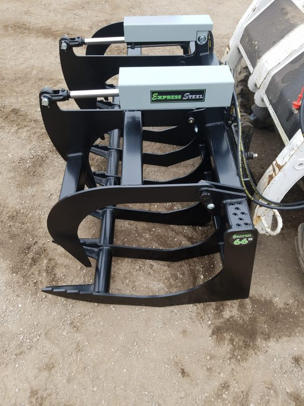 """66"""" Two-Cylinder Brush Grapple"""