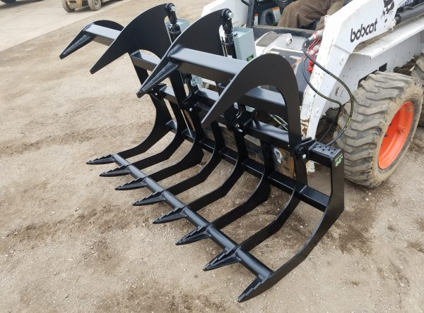 "66"" Two-Cylinder Brush Grapple"