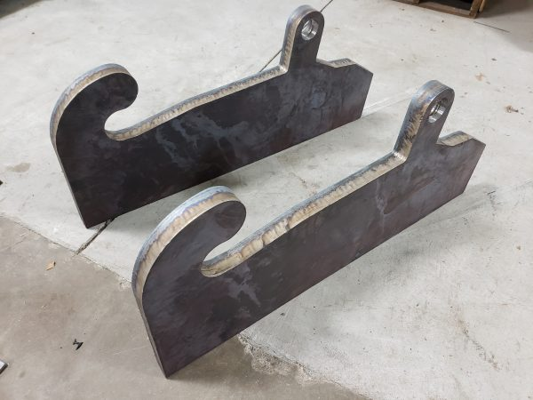 JRB 417 and 418 female adapter blanks