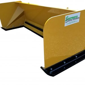 """24"""" Low Profile Skid Steer & Compact Tractor Snow Pushers"""