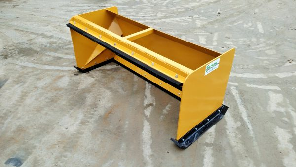 5' XP30 Snow Pusher - Caterpillar Yellow