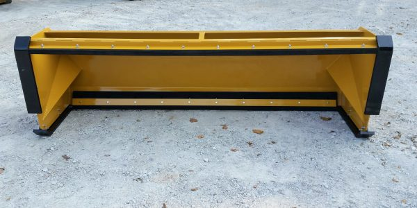 10' XP30 Pullback Snow Pusher with front shoes