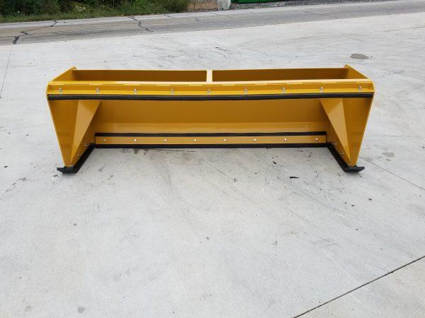 8′ XP30 Pullback Snow Pusher - Yellow