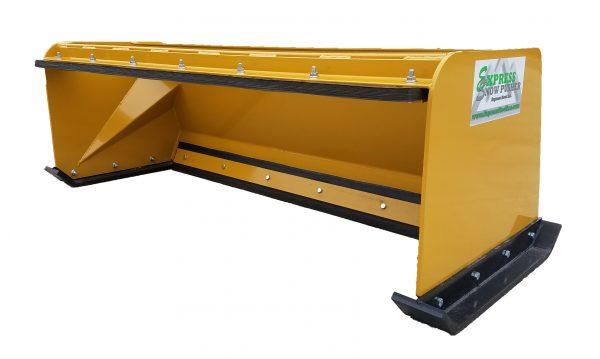6' XP24 Pullback Snow Pusher - Caterpillar Yellow