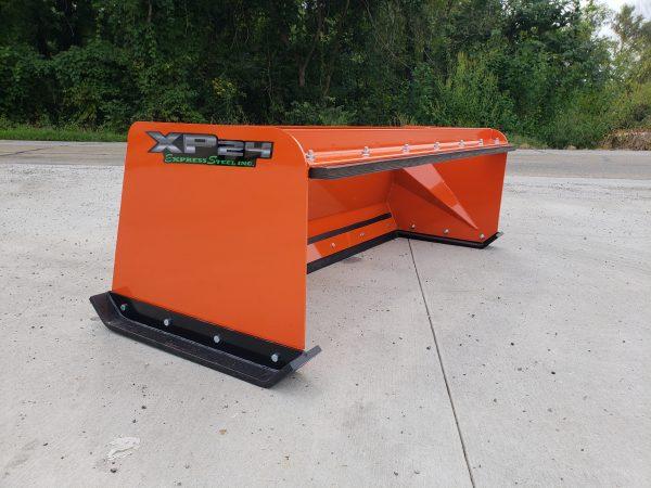 6′ XP24 Pullback Snow Pusher - Kubota Orange