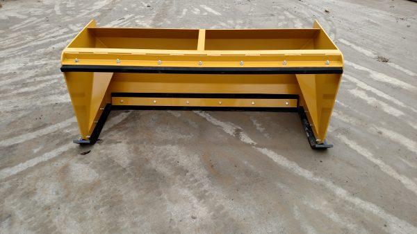 6′ XP30 Pullback Snow Pusher - Yellow
