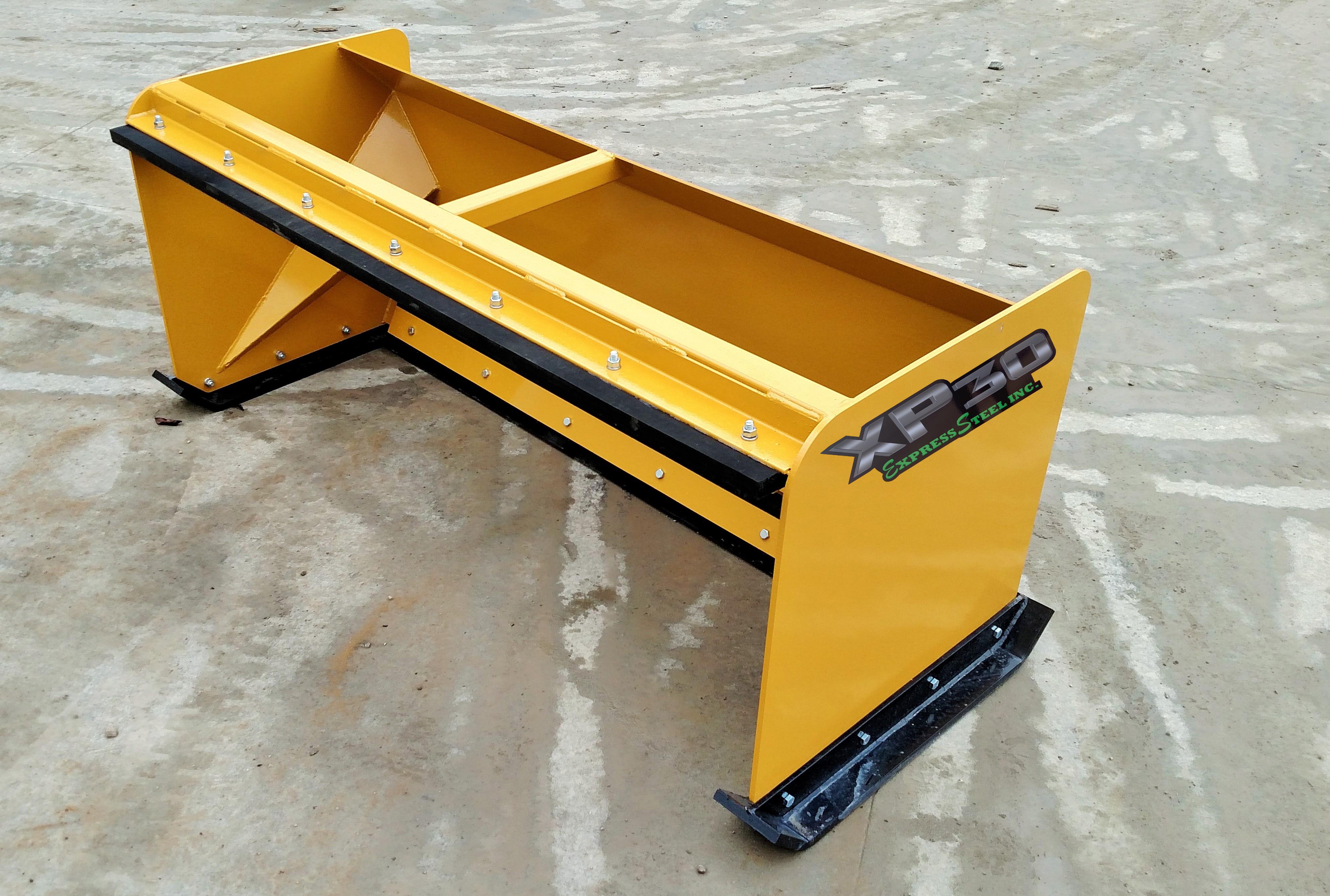 6/' XP30 Pullback John Deere snow pusher skid steer loader tractor-FREE SHIPPING