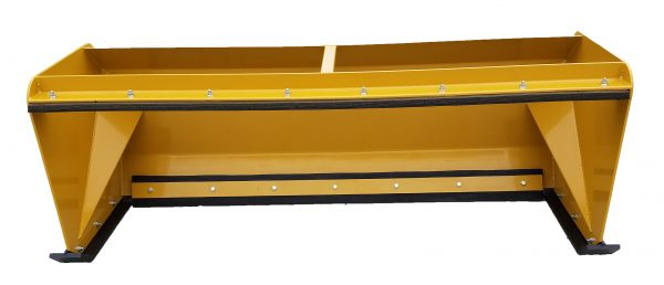 7′ XP30 Pullback Snow Pusher - Caterpillar Yellow