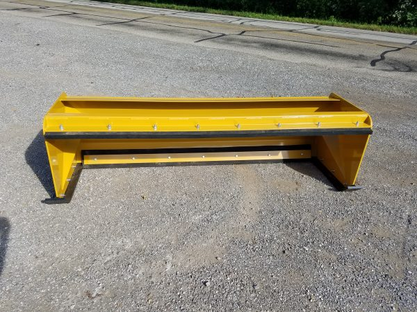 7′ XP24 Pullback Snow Pusher - Caterpillar Yellow