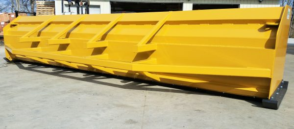 16'' XP36 HD Loader Snow Pusher (back view)