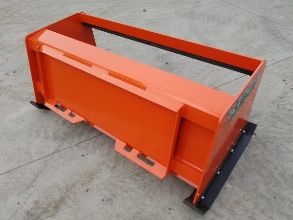 5′ XP24 Pullback Snow Pusher - Kubota orange