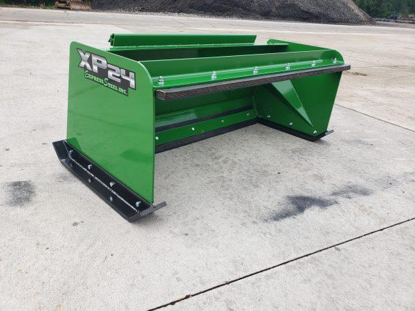 5' XP24 Pullback Snow Pusher - JD Green
