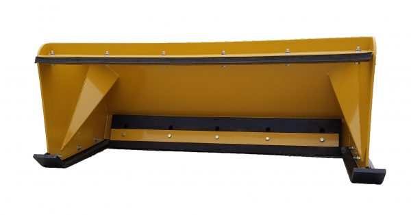 5' XP24 Pullback Snow Pusher - Caterpillar Yellow