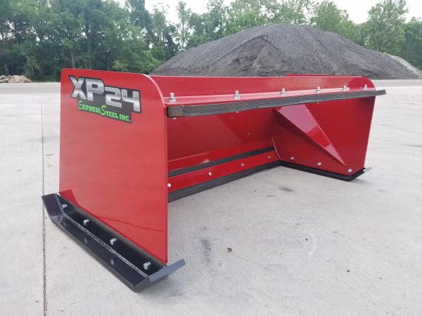 5′ XP24 Pullback Snow Pusher - International Red