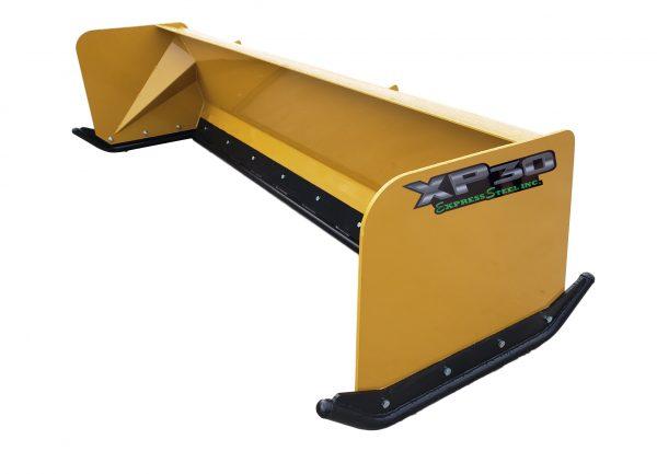 8′ XP30 Turf Pusher - Caterpillar Yellow