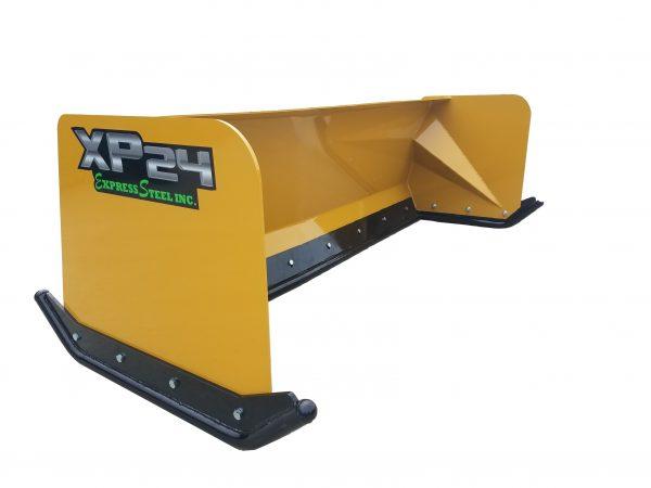 7′ XP24 Turf Pusher - Caterpillar Yellow