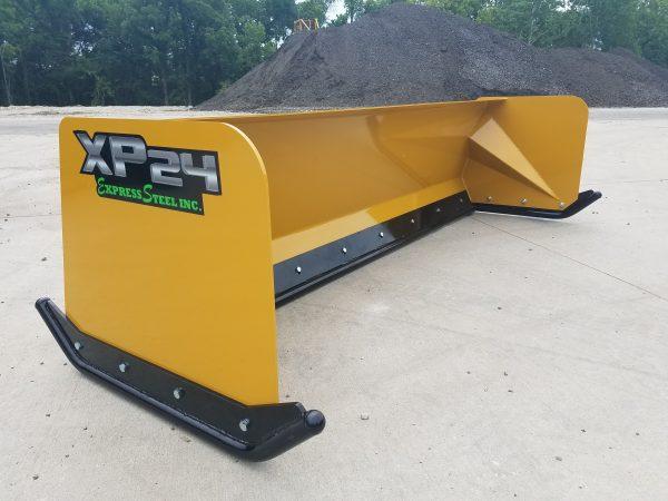 6′ XP24 Turf Pusher - Caterpillar Yellow
