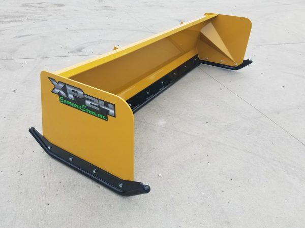8′ XP24 Turf Pusher - Caterpillar Yellow