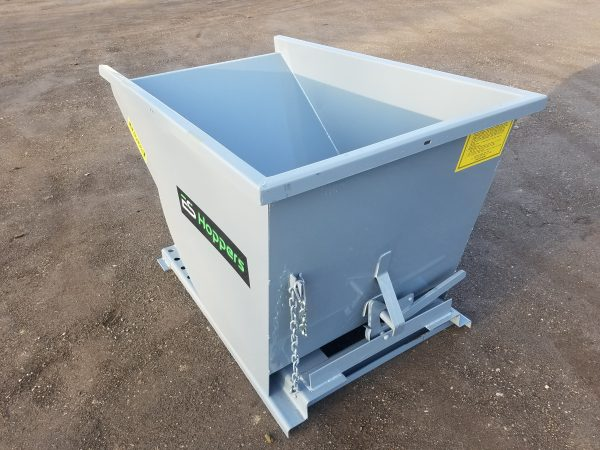 1 Yard Wright Self-Dumping Hopper