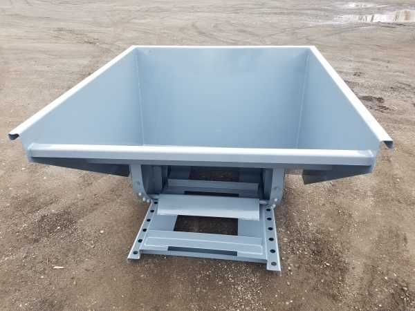 1-1/2 Yard Wright Self-Dumping Hopper