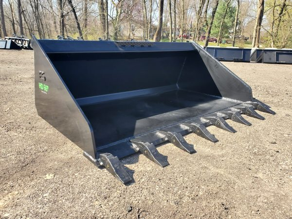 "66"" HD High Capacity Tooth Bucket"
