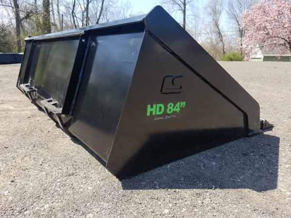 """84"""" HD High Capacity Tooth Bucket"""