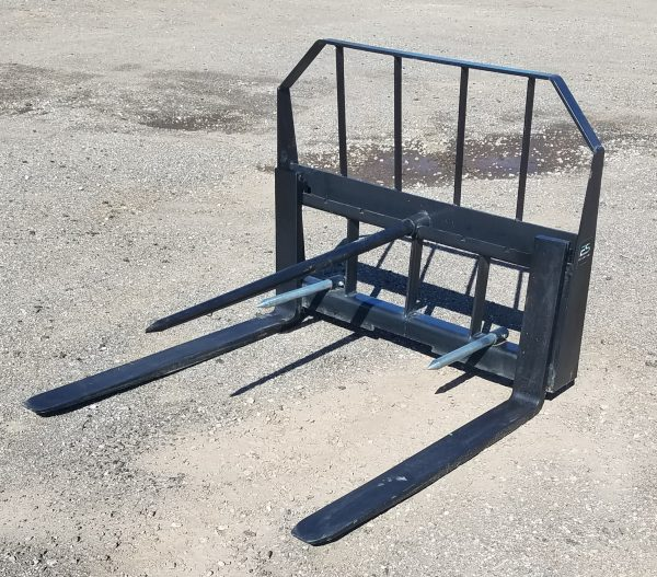 """36"""" Standard Pallet Forks and Hay Bale Spear Combo"""