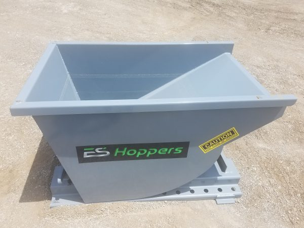 1/3 Yard Wright Self-Dumping Hopper